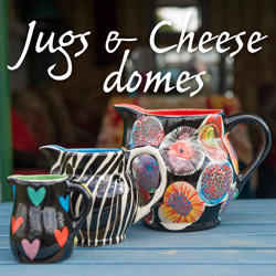 Jugs & Cheese domes